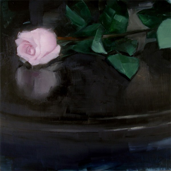 """Dark Rose (no.57)"" original fine art by Michael William"