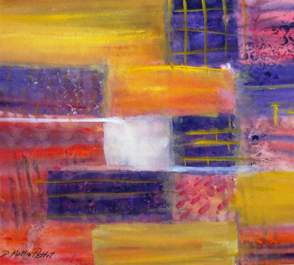 """Blocks"" original fine art by Dolores Pettit"