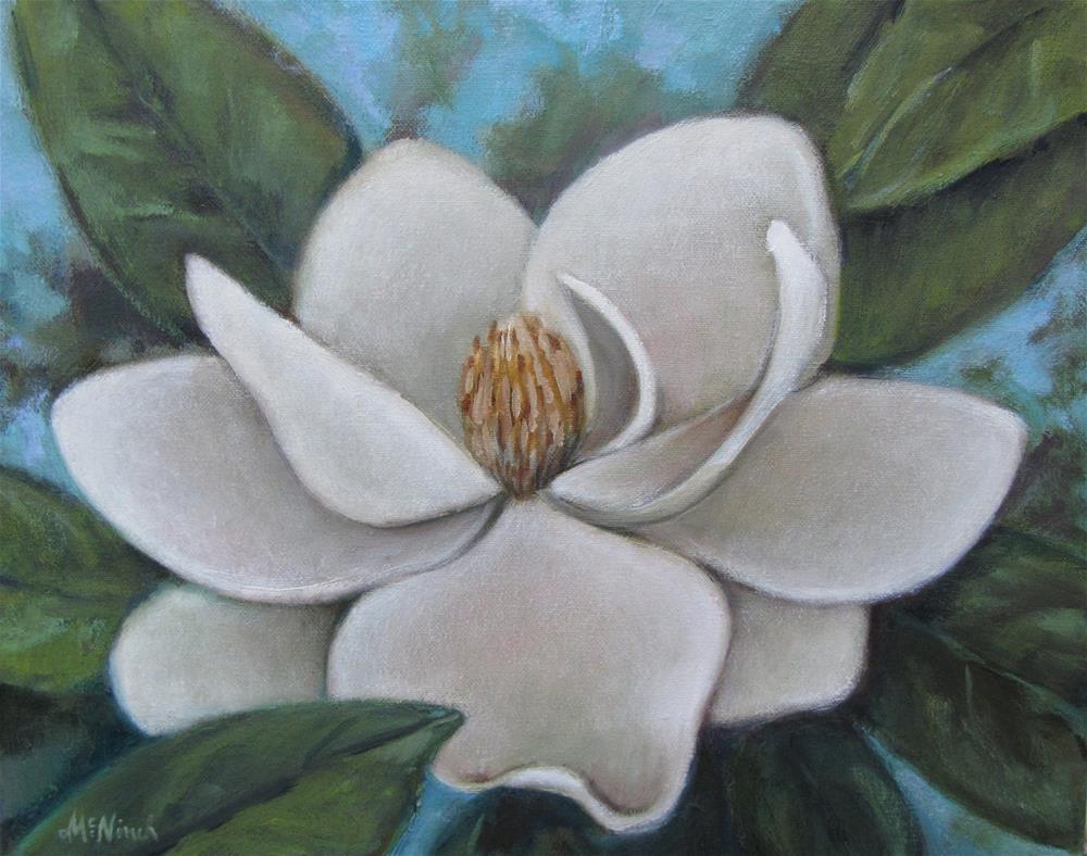"""""""Magnolia"""" original fine art by Michel McNinch"""