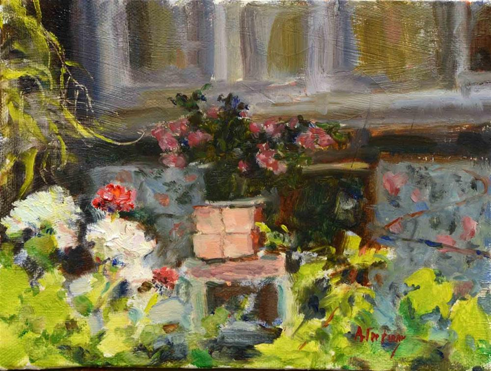 """Front Porch"" original fine art by alicia tredway"