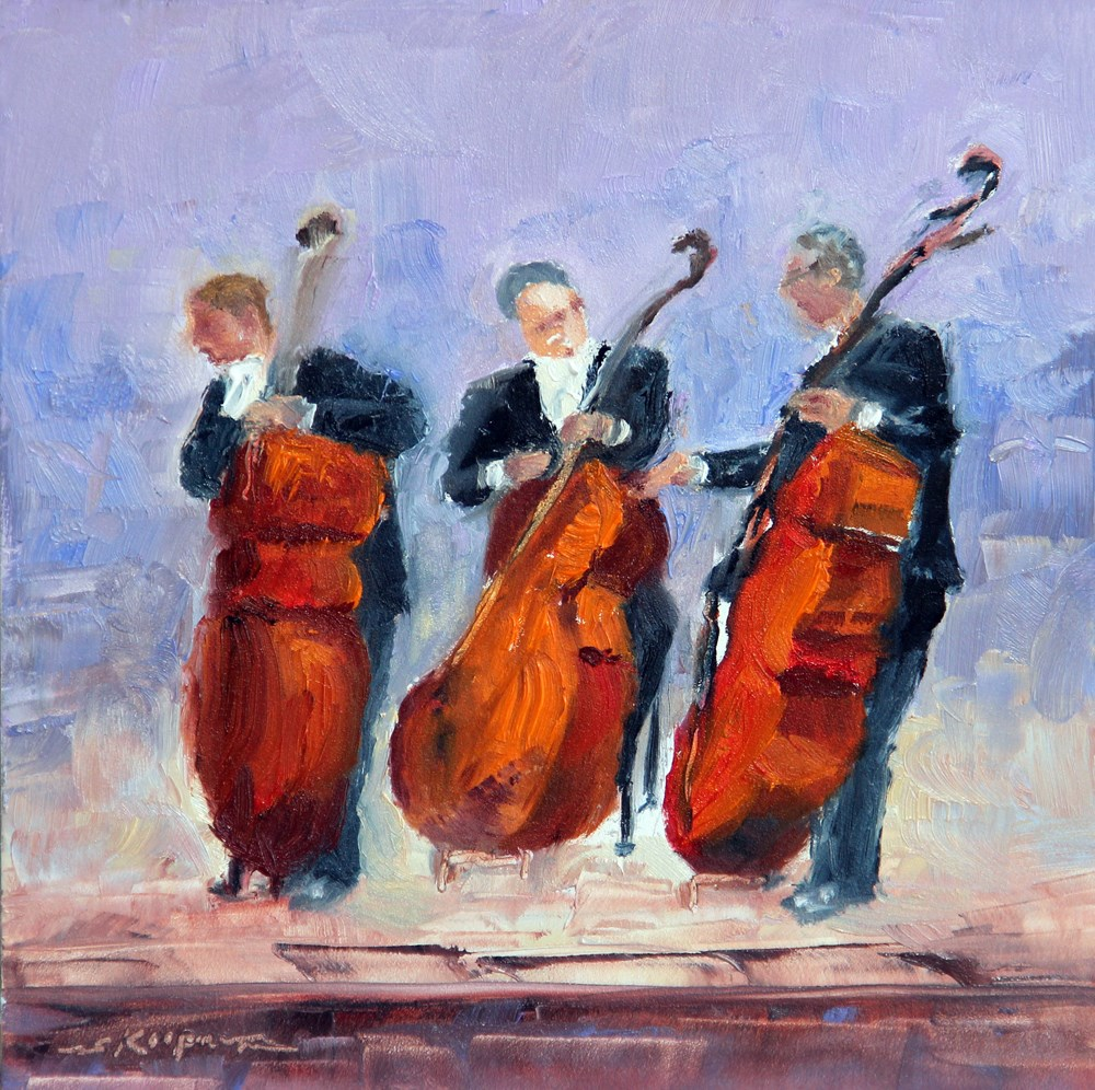 """Strings"" original fine art by Shelley Koopmann"