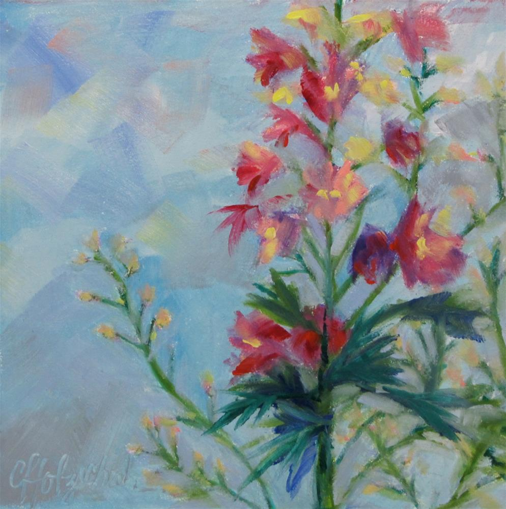 """Midday Break"" original fine art by Christine Holzschuh"