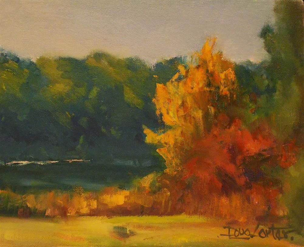 """FALL COLORS"" original fine art by Doug Carter"