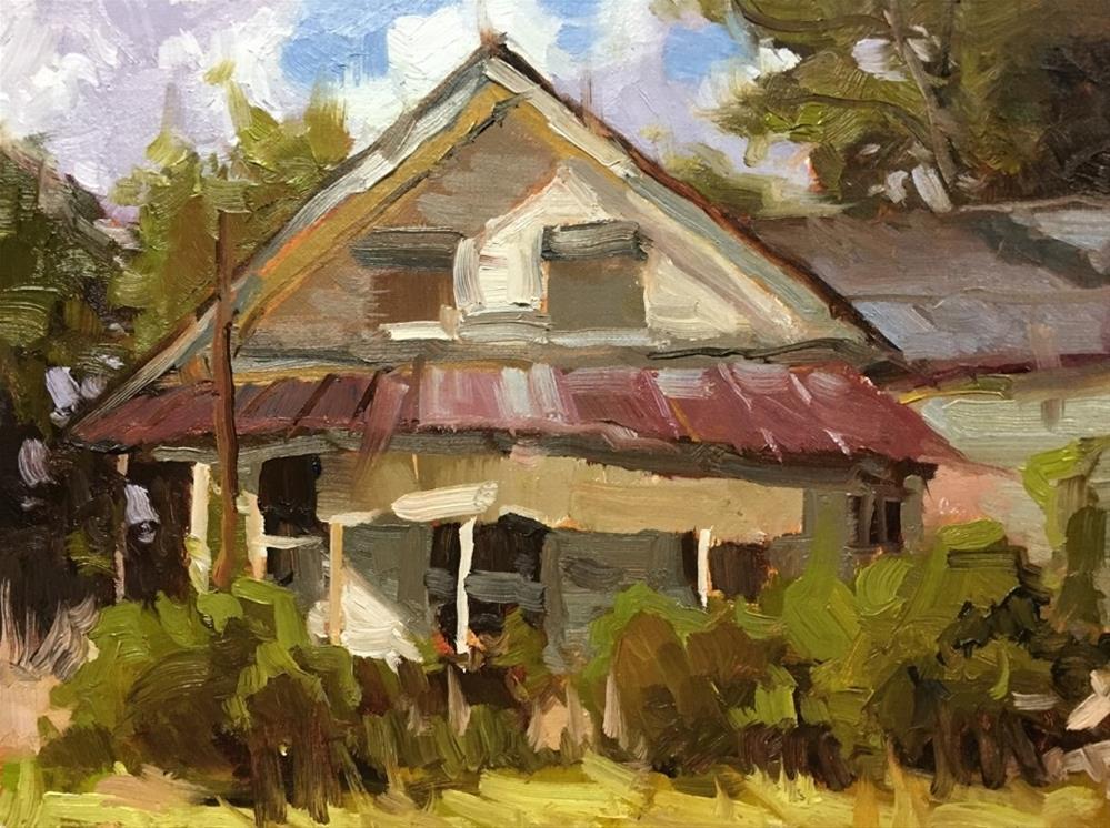 """Buchanan General Store"" original fine art by David Boyd Jr"