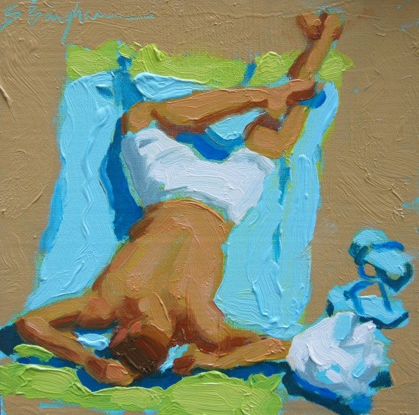 """""""Endless Summer"""" original fine art by Bruce Bingham"""
