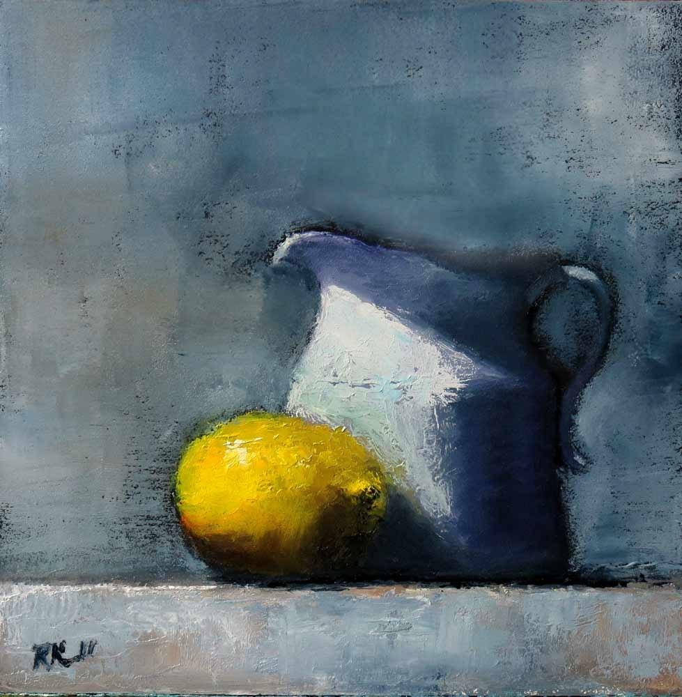 """Lemon and Pticher"" original fine art by Bob Kimball"