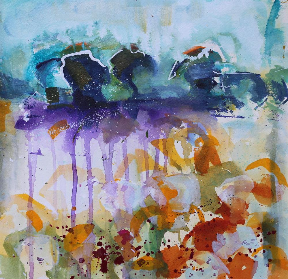 """""""Oasis"""" original fine art by Elizabeth Chapman"""