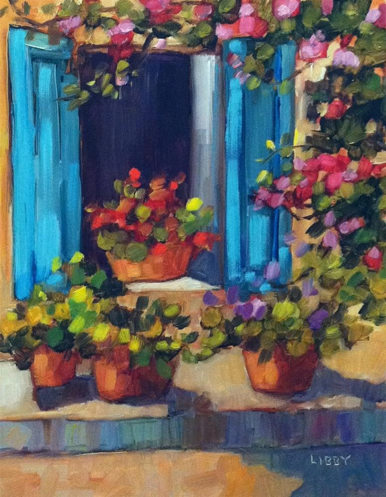 """Open Window"" original fine art by Libby Anderson"