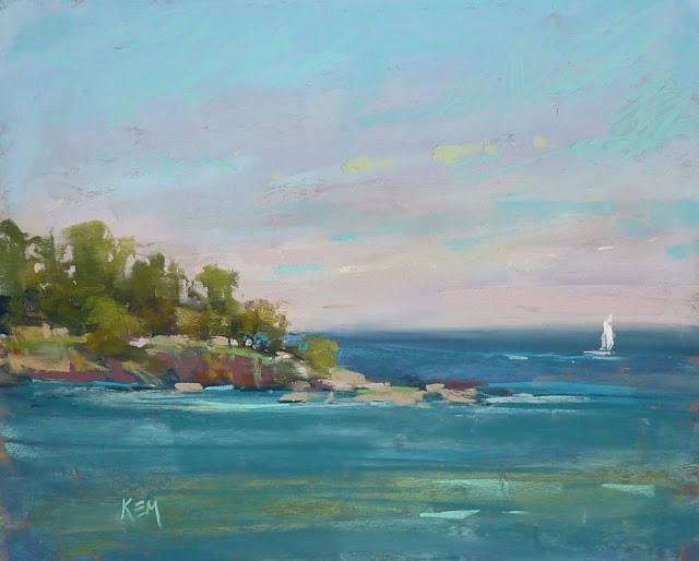 """A Week in Croatia part 3: The Sea"" original fine art by Karen Margulis"
