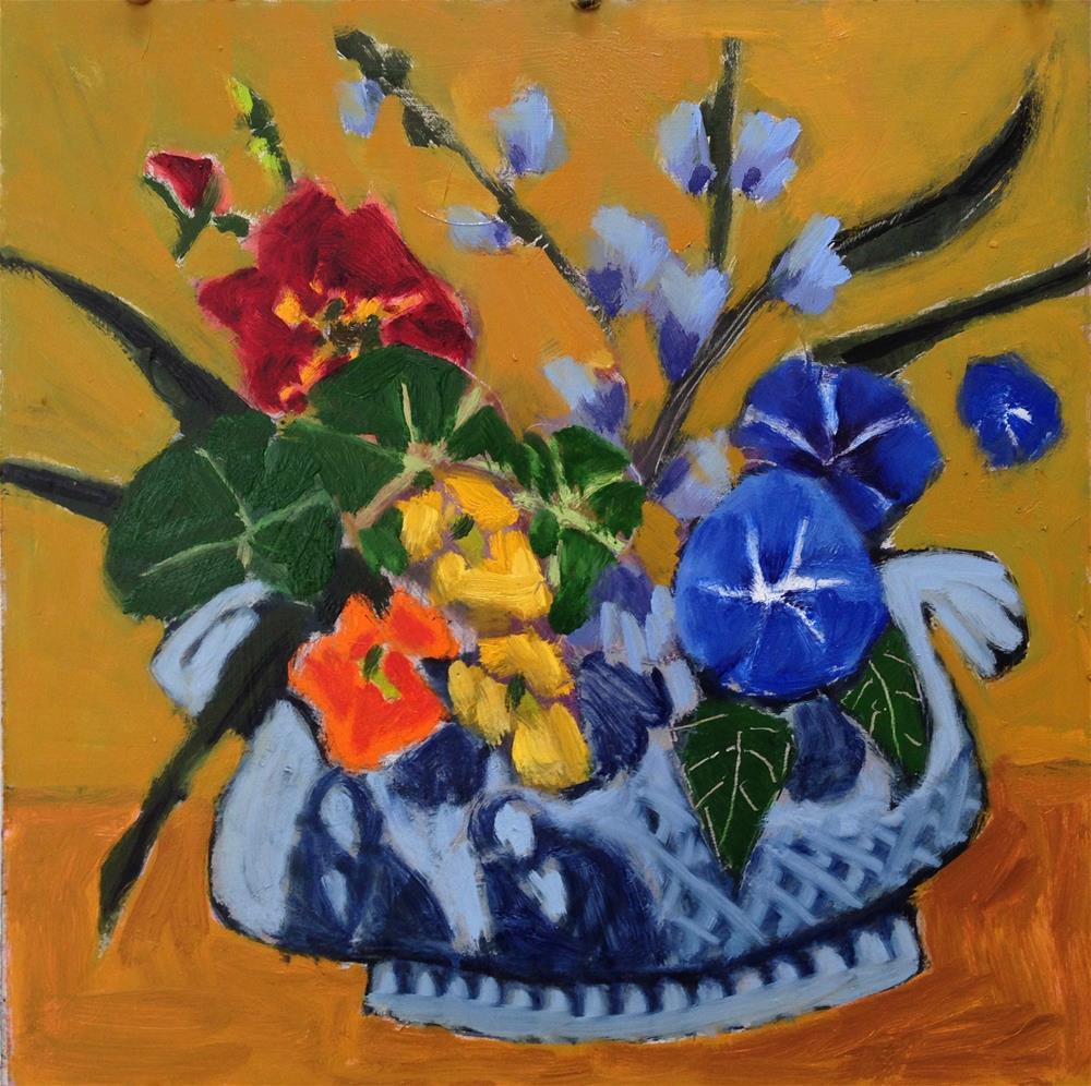 """""""Common, Noxious, Rampant...Bouquet"""" original fine art by Pamela Hoffmeister"""