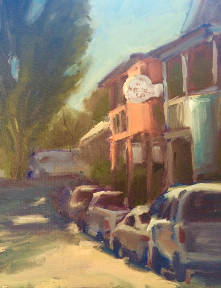 """Town of Locke, CA"" original fine art by Naomi Bautista"
