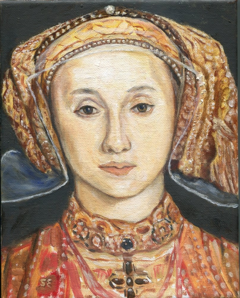 """Anne of Cleves"" original fine art by Stanley Epperson"