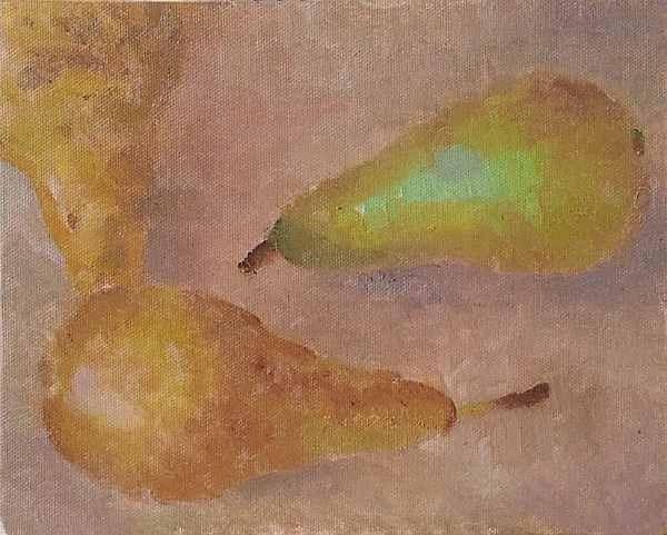 """Pears"" original fine art by Ed Cooper"