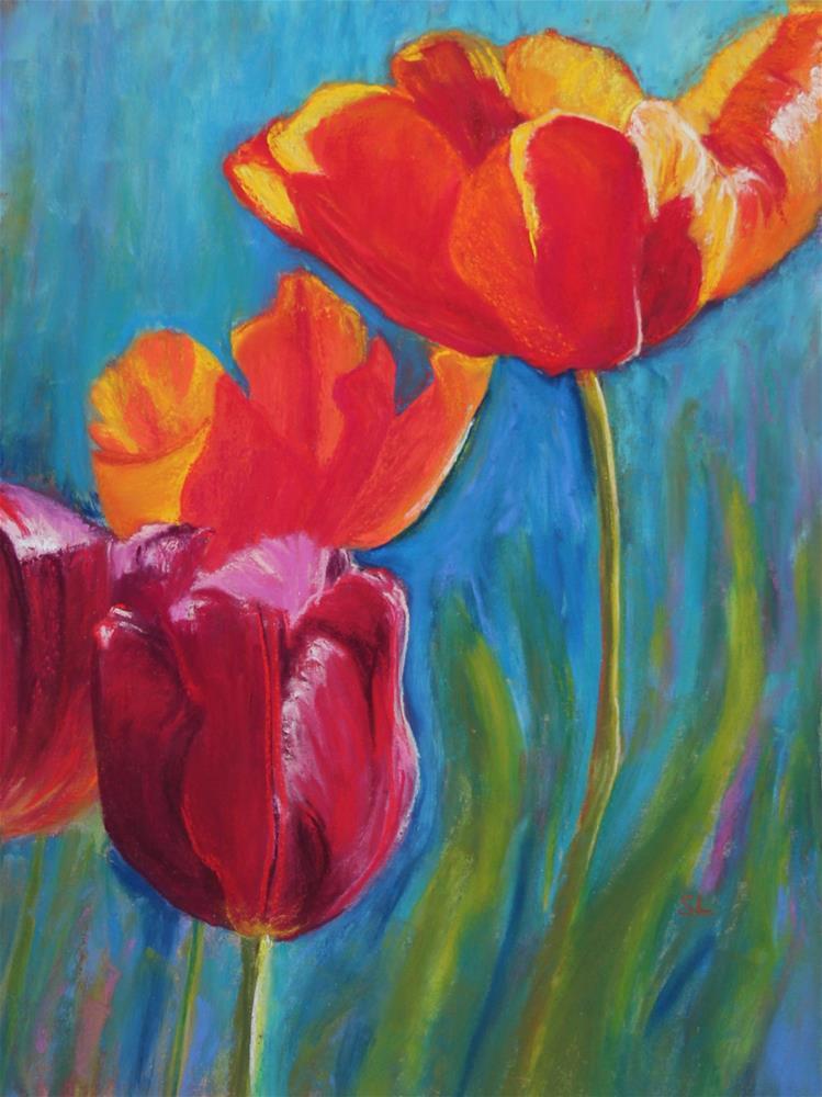 """Spring Gifts"" original fine art by Sharon Lewis"