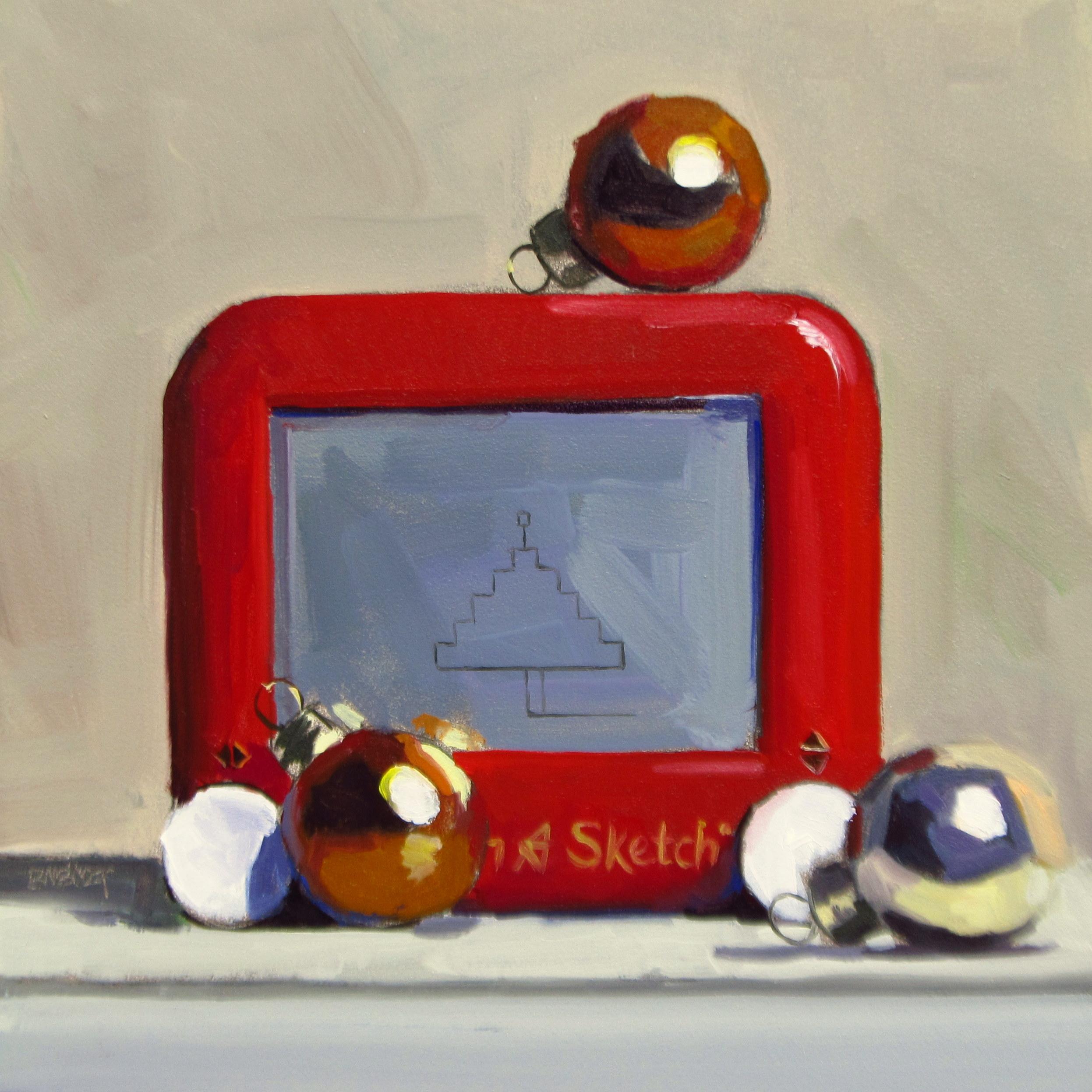 """""""DAILY DIAPER #222 Christmas Sketch"""" original fine art by Brian Burt"""
