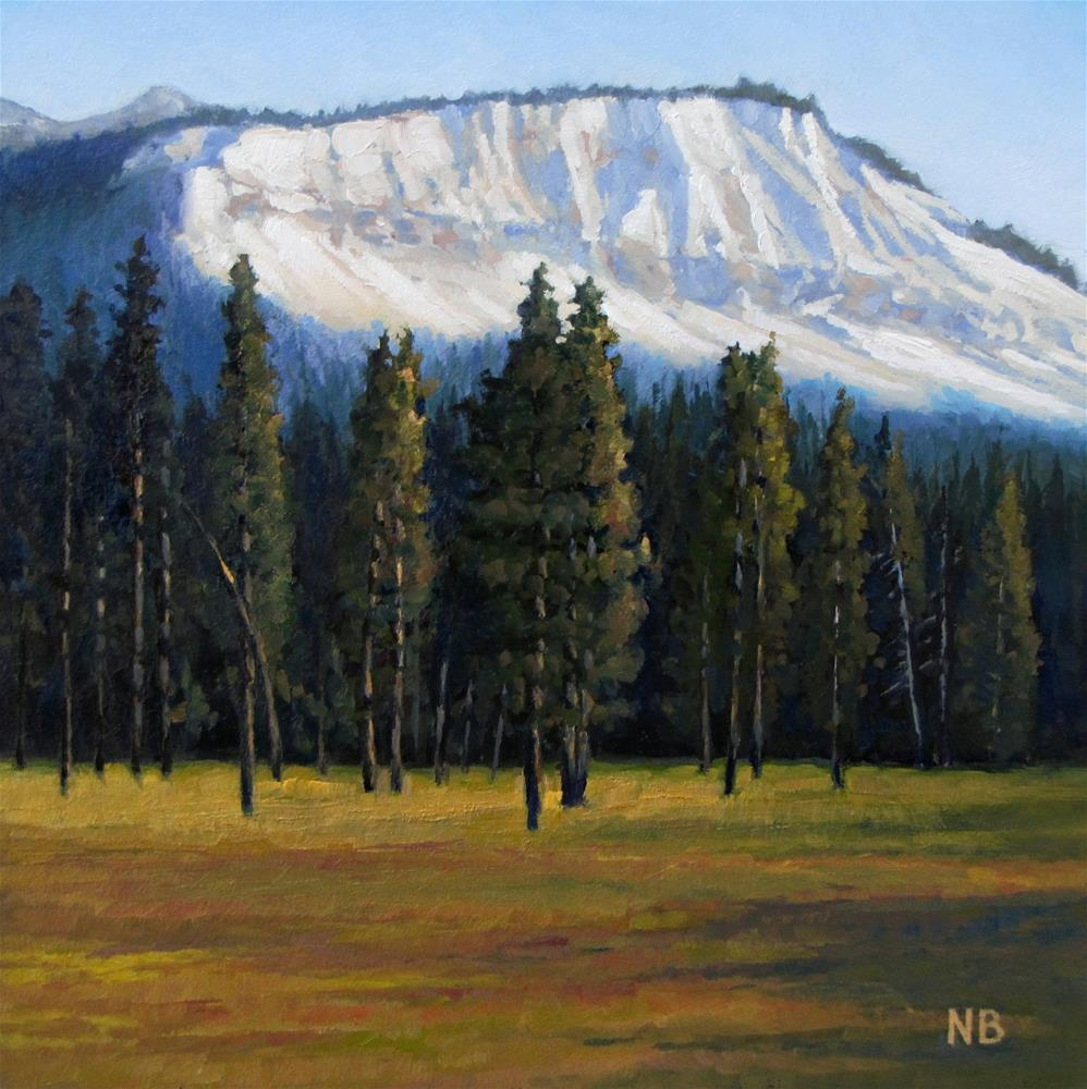 """Leaving Yellowstone"" original fine art by Nora Bergman"