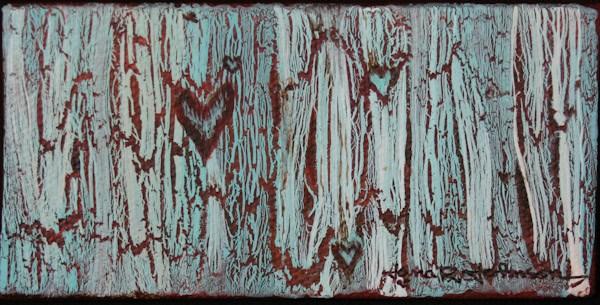 """Hearts A Plenty"" original fine art by Jana Johnson"