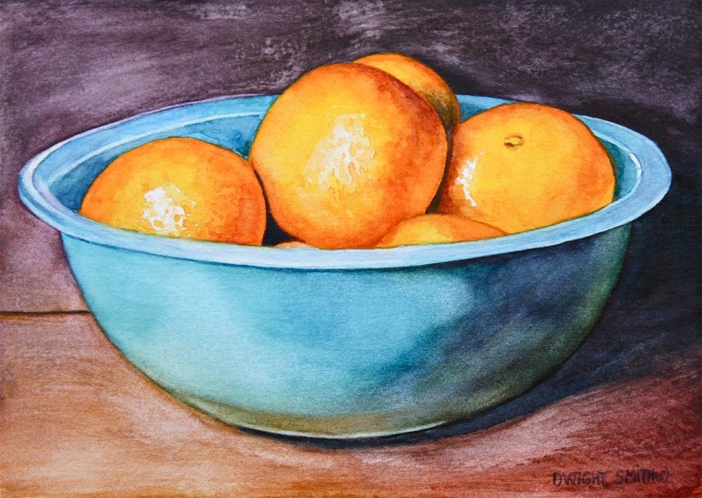 """ BLUE NEST "" original fine art by Dwight Smith"