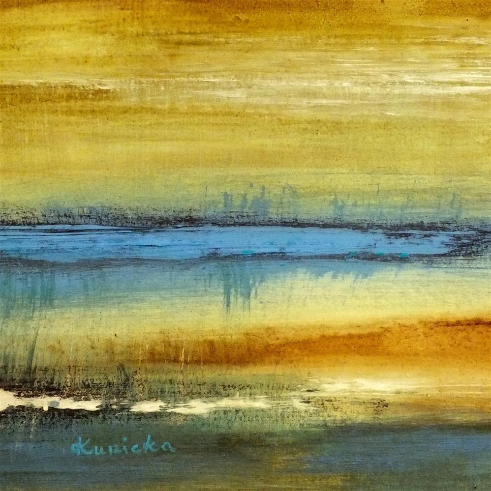 """Landscape 190"" original fine art by Ewa Kunicka"