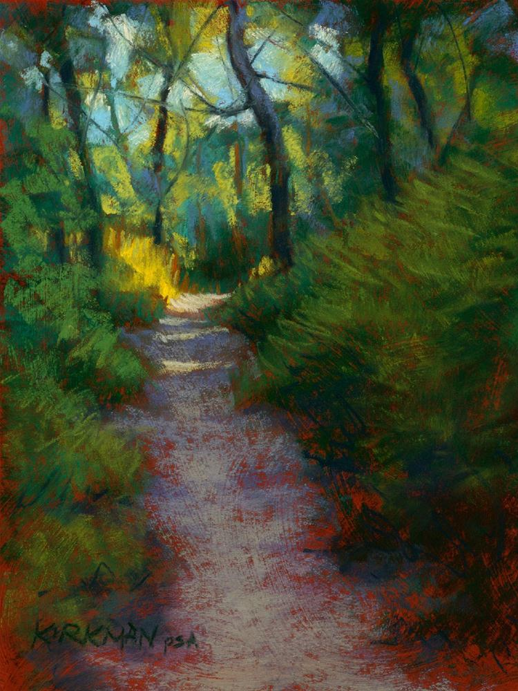 """Park Trail #14"" original fine art by Rita Kirkman"