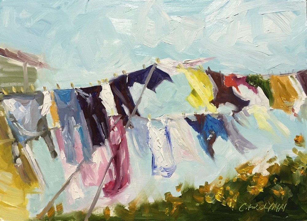"""Maritime Winds"" original fine art by Carolynn Doan"