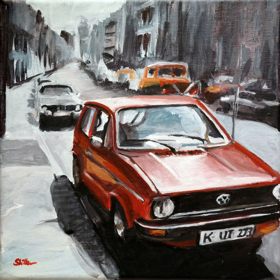 """1562 Generation Golf"" original fine art by Dietmar Stiller"