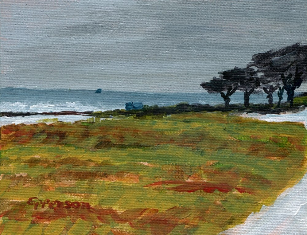 """Pacific Grove"" original fine art by Stanley Epperson"
