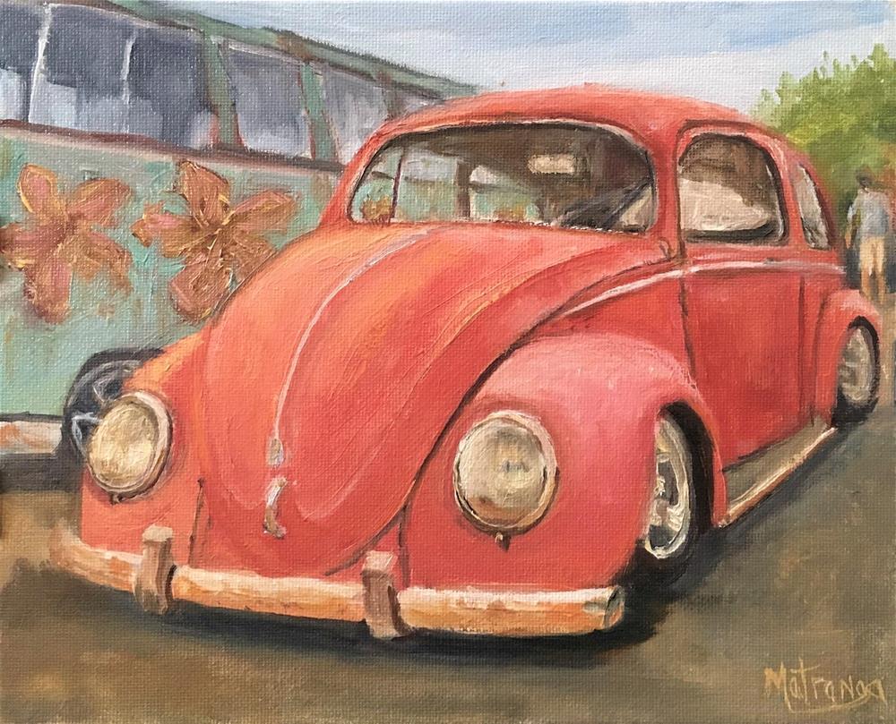 """Rusting Away"" original fine art by Patricia Matranga"