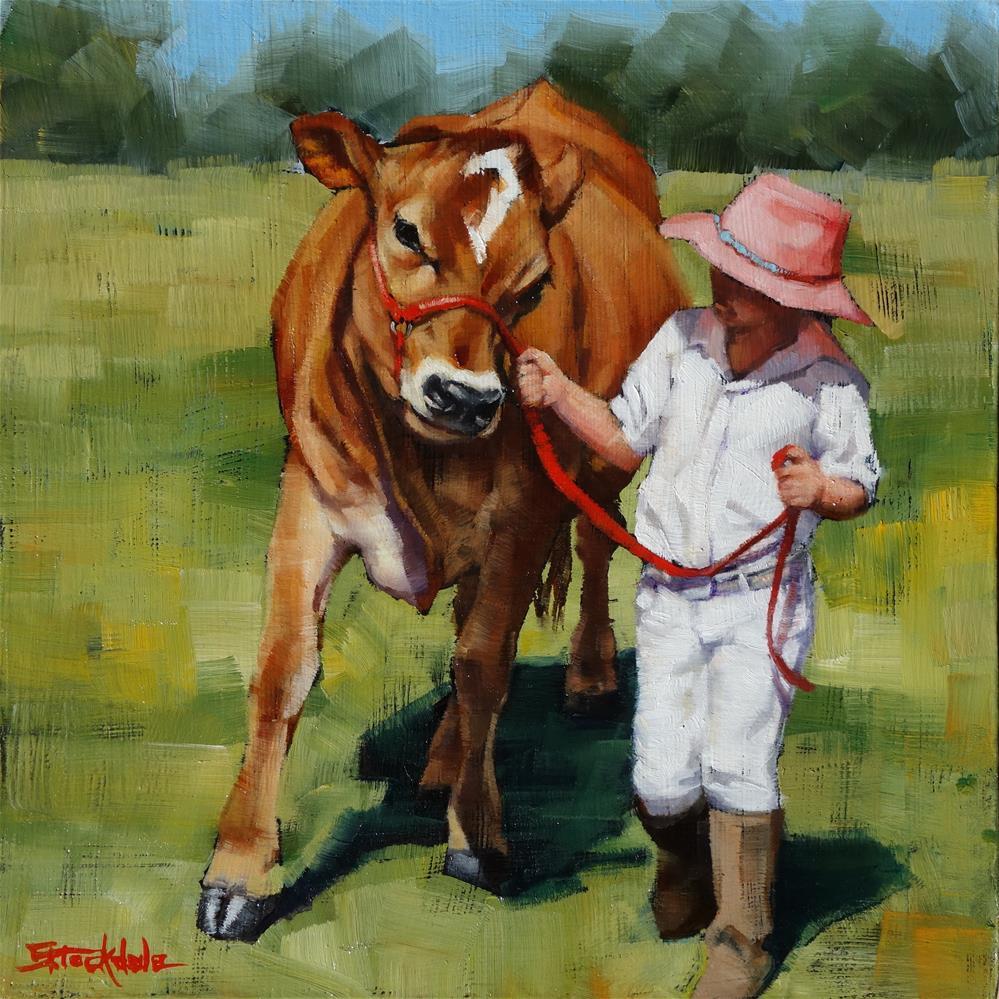 """Showgirls"" original fine art by Margaret Stockdale"