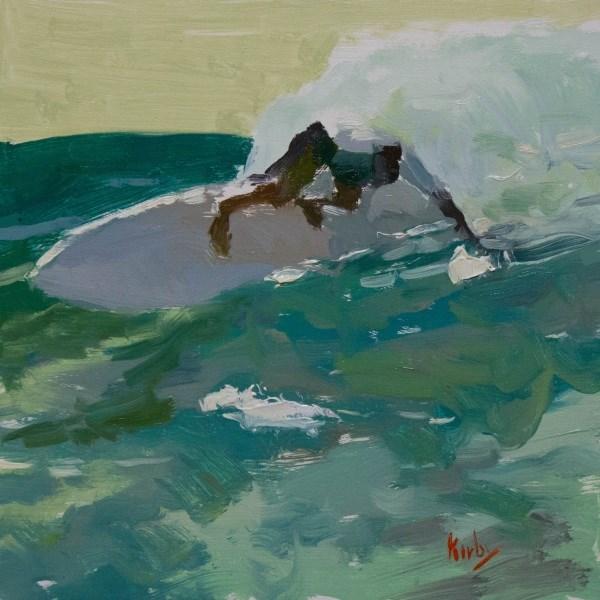 """Morning at Indo"" original fine art by Randall Cogburn"