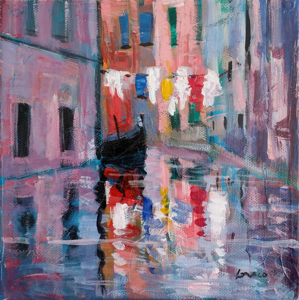 """venise #1"" original fine art by salvatore greco"