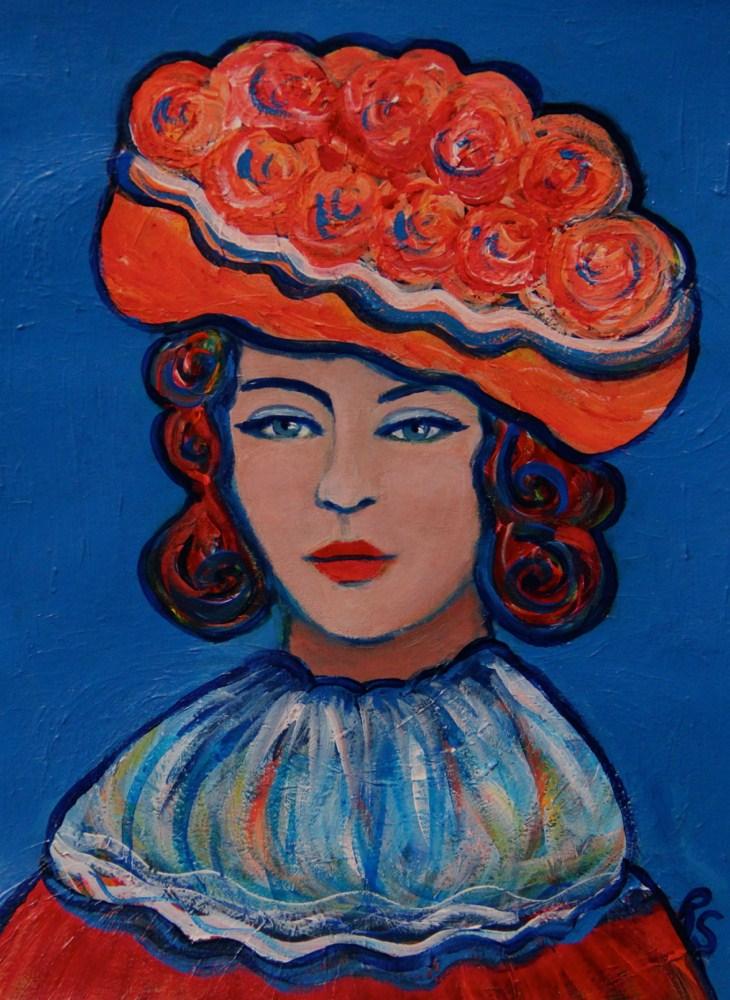 """Elodie"" original fine art by Roberta Schmidt"