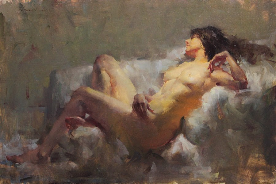"""Comfort Zone 3"" original fine art by Fongwei Liu"
