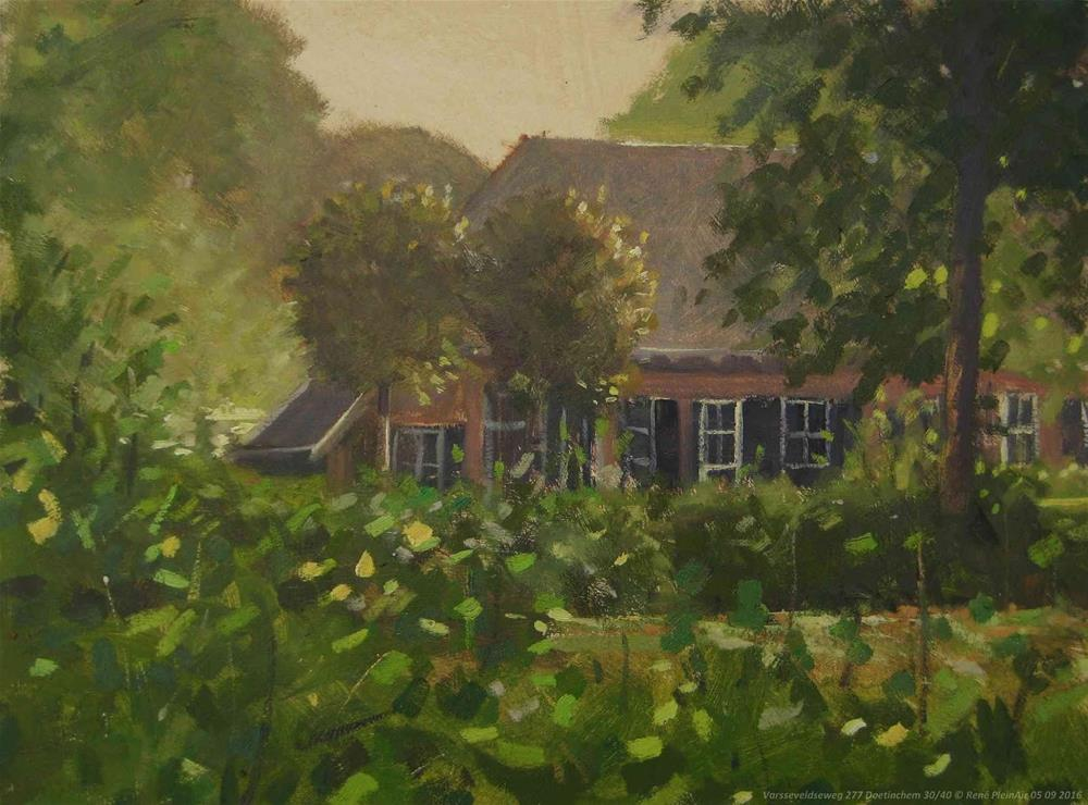 """Varsseveldseweg 277. Doetinchem, The Netherlands."" original fine art by René PleinAir"