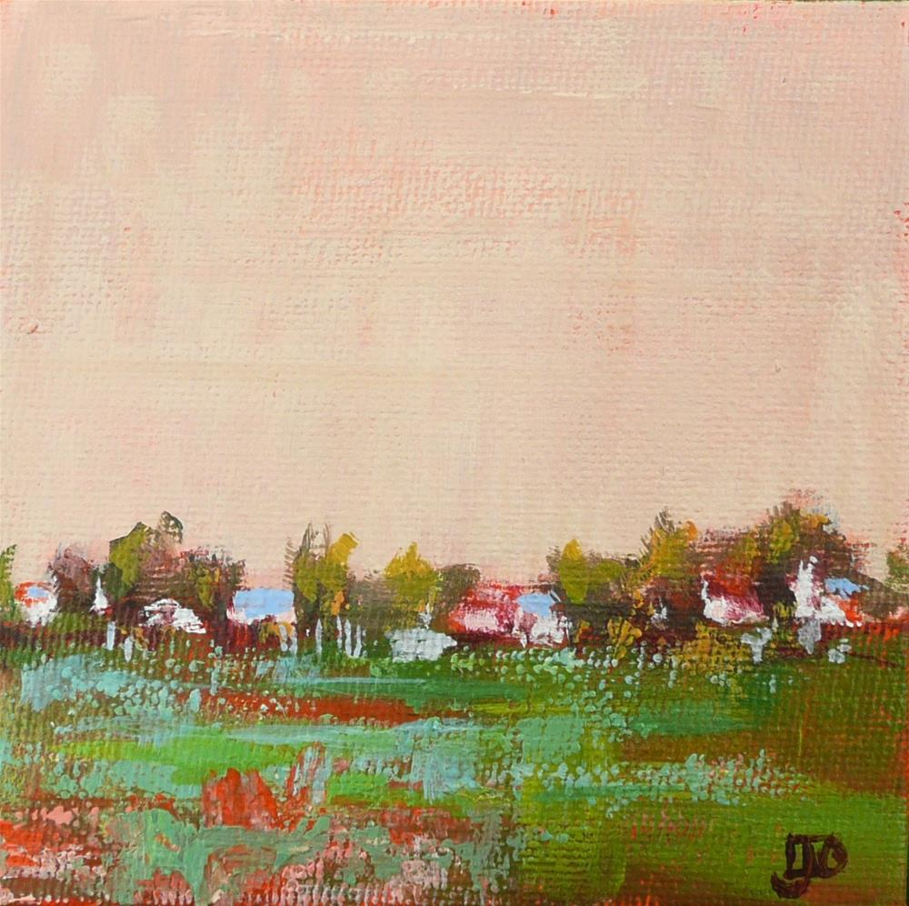 """Spring Pasture"" original fine art by Leanne Owen"