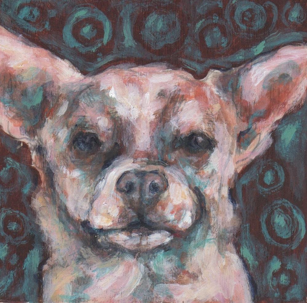 """Chihuahua"" original fine art by Kathy Hiserman"