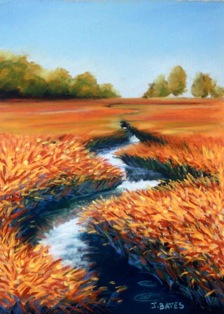 """""""Come Further In II"""" original fine art by Jill Bates"""