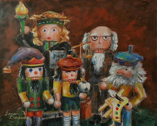 """Nutcracker Family!"" original fine art by Tammie Dickerson"