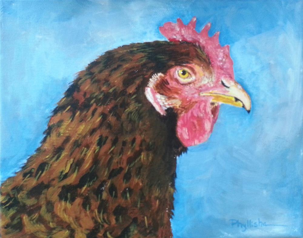 """Fred"" original fine art by Phyllisha Hamrick"