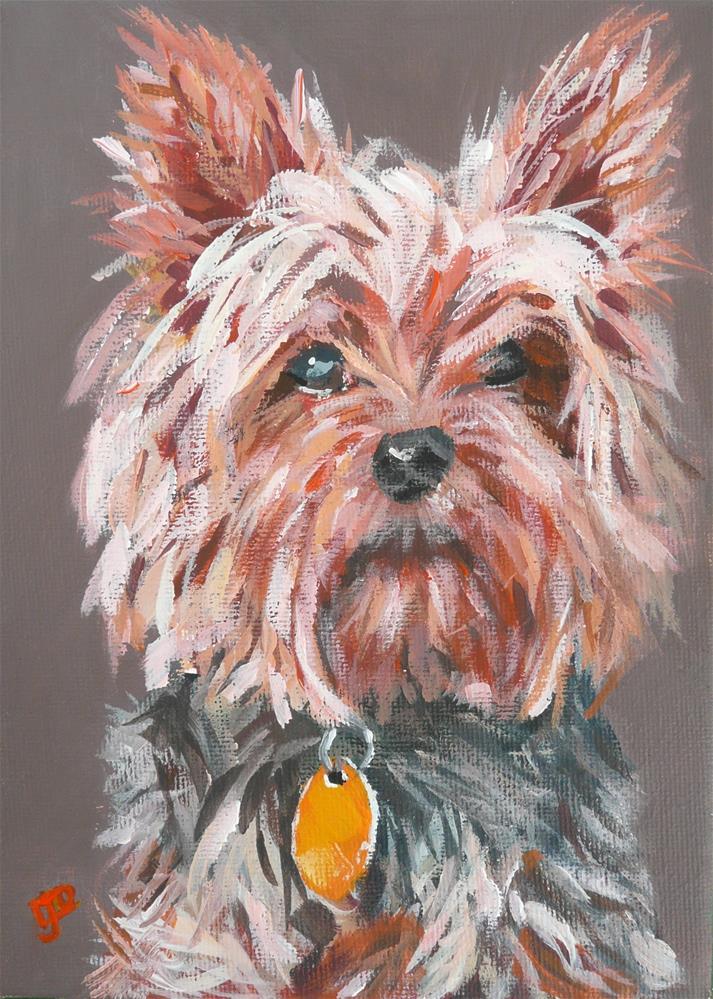 """""""Little One"""" original fine art by Leanne Owen"""