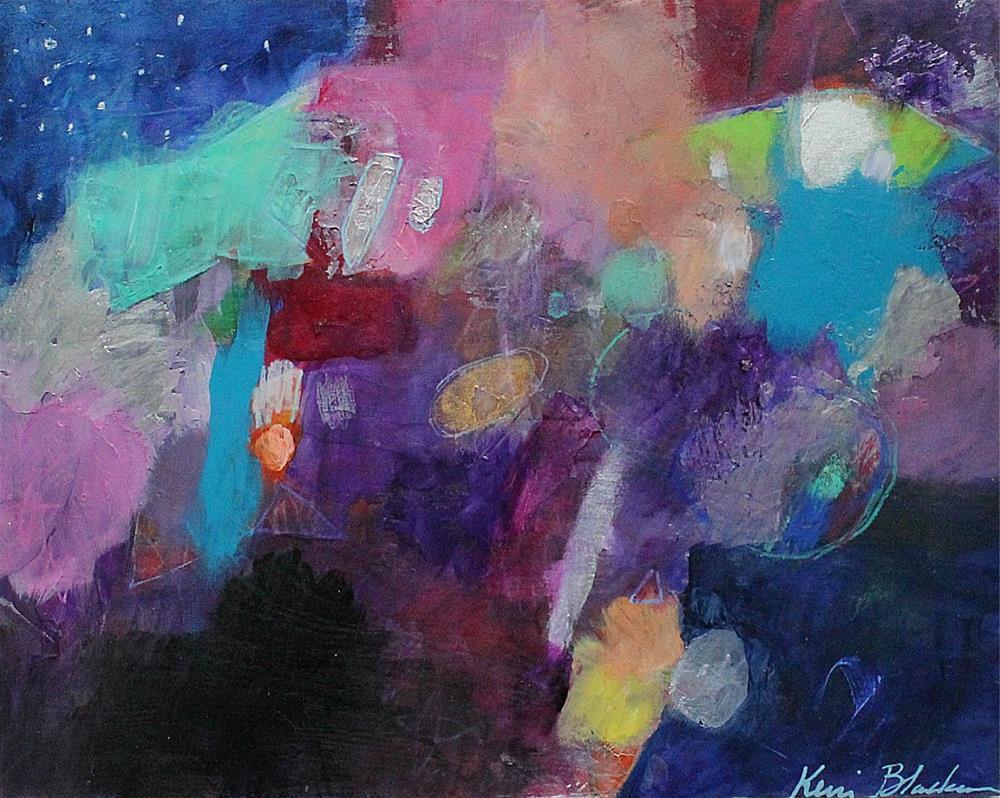 """At the Edge of My Eye "" original fine art by Kerri Blackman"