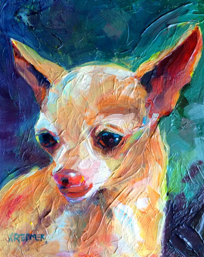 """Sam"" original fine art by Kathleen Redmer"