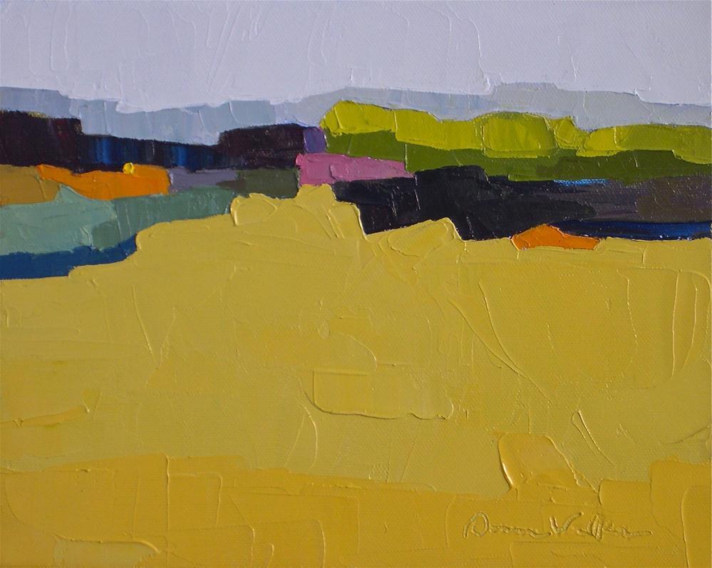 """""""Terrain II"""" original fine art by Donna Walker"""