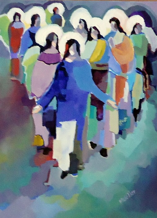"""Never Too Many"" original fine art by Laurie Mueller"