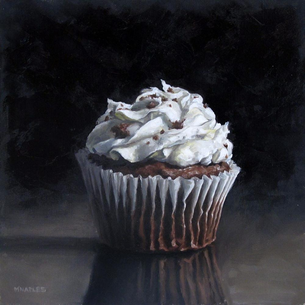 """Chocolate Cupcake"" original fine art by Michael Naples"