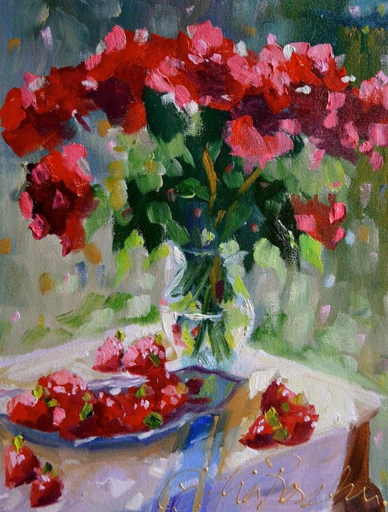 """Peace Offering"" original fine art by Cecilia Rosslee"