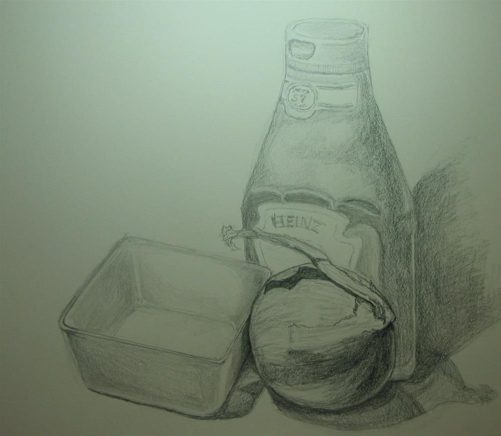 """The Drawing Studio"" original fine art by Patricia Murray"