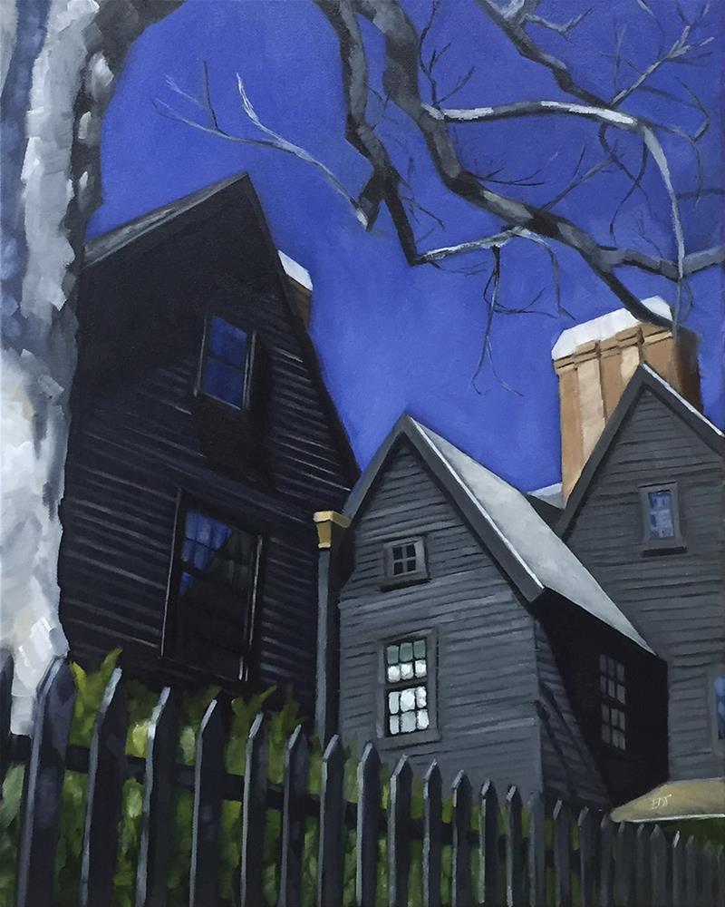 """""""Hawthorne"""" original fine art by Elizabeth Dawn Johnston"""