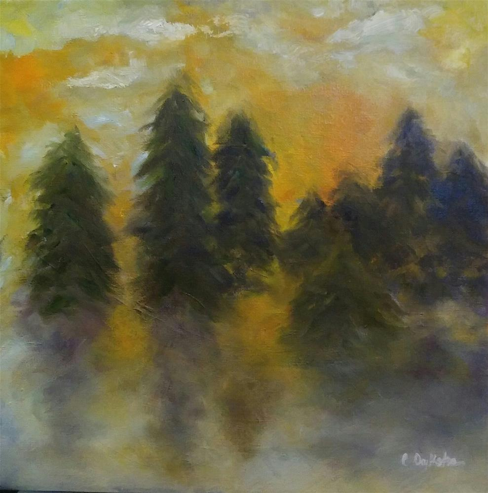 """The Light"" original fine art by Cathy Dykstra"