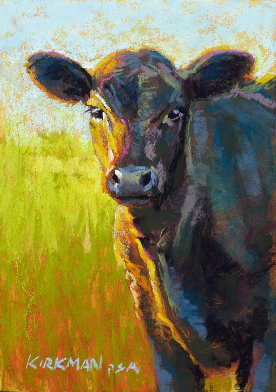 """Bosco"" original fine art by Rita Kirkman"